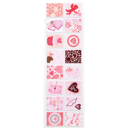 Valentine Stamp Stickers_48-00042