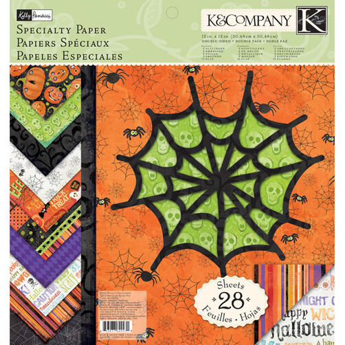 Kelly Panacci Halloween 12x12 Specialty Paper Pad _30-622470