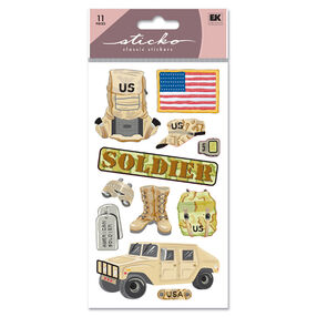 US Soldier Classic Stickers_SPUPGR11