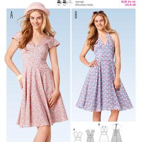 Burda Style Pattern 6793 Dresses