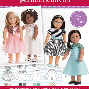 "American Girl Doll Clothes for 18"" Doll"