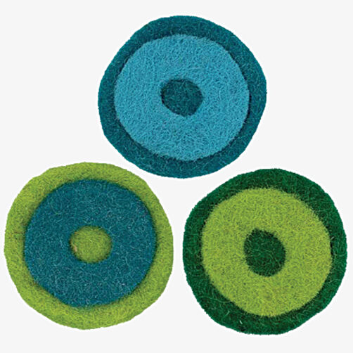 Layered Wool Felt Circles_72-73952