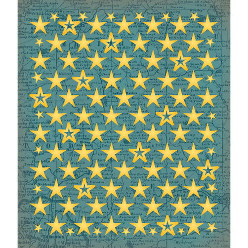 Stars+Gold Sticker Medley_30-588059