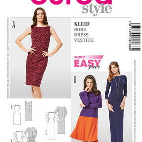 Burda Style Pattern 6988 Dress
