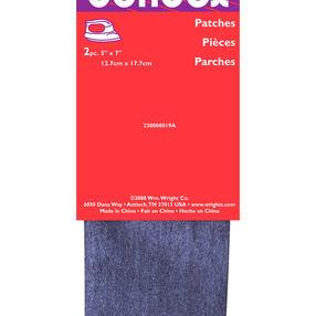 "Bondex Iron On Twill Patch 5"" x 7"", 2 pieces"