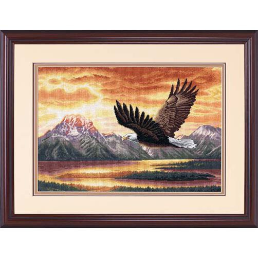 Silent Flight, Counted Cross Stitch_35165