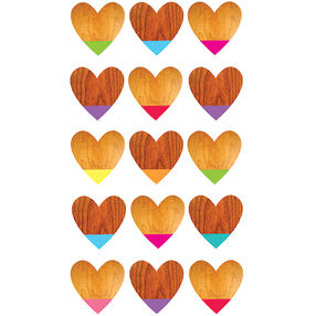 Color Dipped Heart Stickers_52-00257