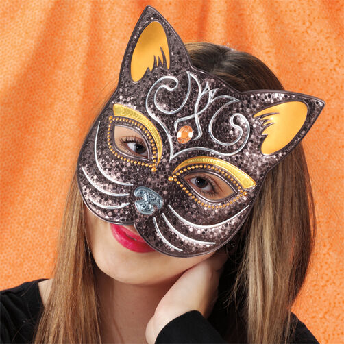 Cat Decorative Mask_48-20307