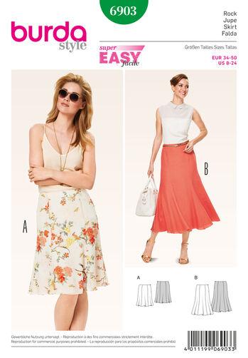 Burda Style Skirts