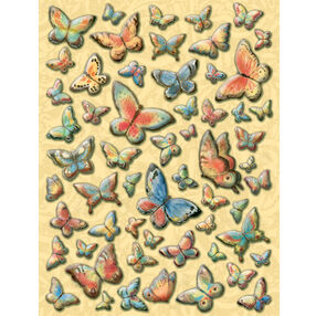 Susan Winget Nature Butterfly Pillow Stickers_30-389038