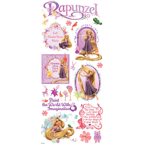 Rapunzel Large Stickers_53-60033