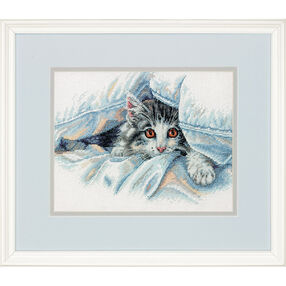 Cat Comfort, Counted Cross Stitch_70-35341