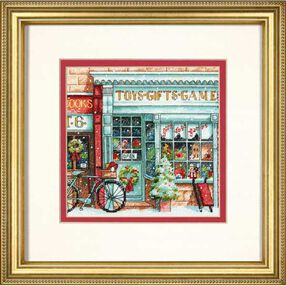 Toy Shoppe in Counted Cross Stitch_70-08900