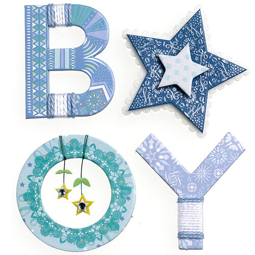 Baby Boy Yarn Word Stickers_50-21609