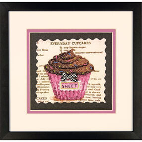 Everyday Cupcakes Stamped Cross Stitch_70-65123