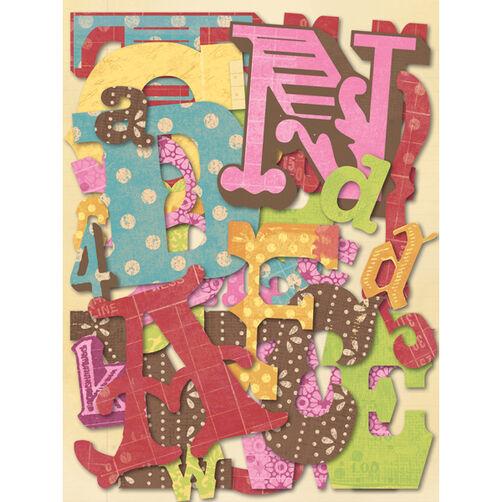 Mixed Alphabet Die-Cut Cardstock_30-591868