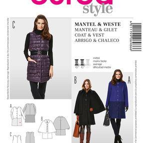 Burda Style Coat & Vest