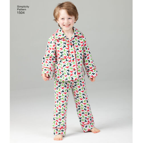 Pattern For Child S Teens And Adults Loungewear