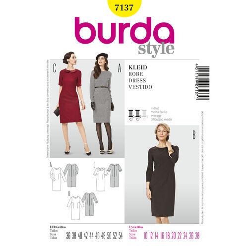 Burda Style Pattern 7137 Dress