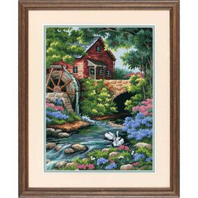 Old Mill Cottage, Needlepoint_02484