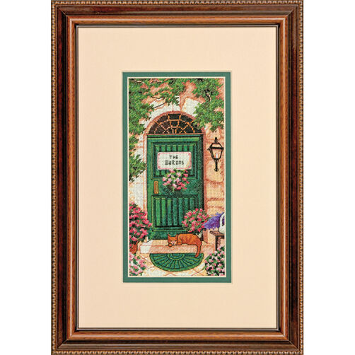 Tuscan Welcome Counted Cross Stitch_70-65126