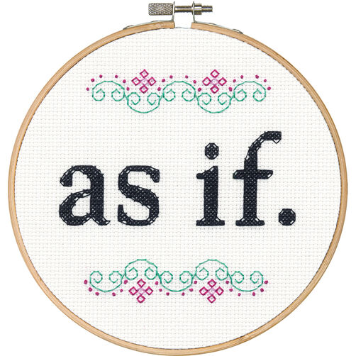 As If, Counted Cross Stitch_70-74701