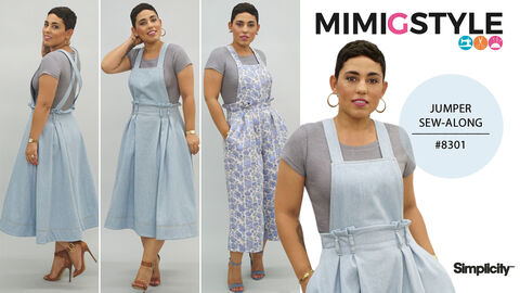 Mimi G Simplicity Pattern 8301 Sew-Along for Jumper
