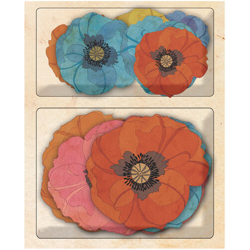Tim Coffey Blossomwood Poppy Layered Accents_30-387676