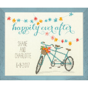 Happily Ever After Wedding Record, Counted Cross Stitch_70-35347