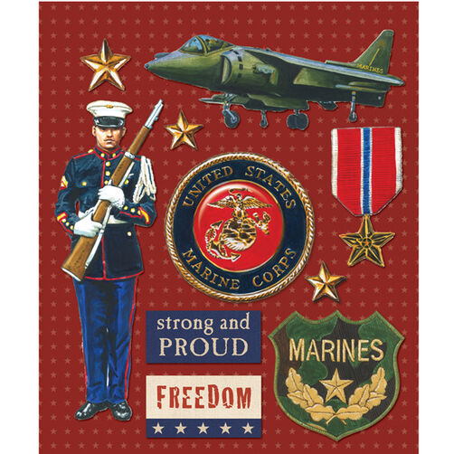 Marines Sticker Medley_30-587977