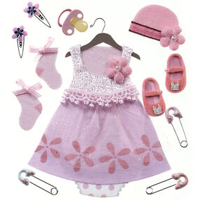 Baby Girl Outfit Stickers_50-21608