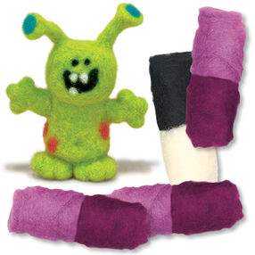 Monster Felted Characters, Set of 2_149096
