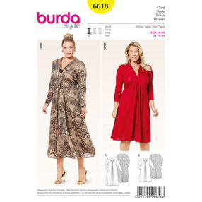 Burda Style Pattern 6618 Dress