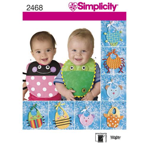 Simplicity Pattern 2468 Baby Bib