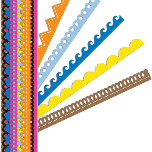 Sheer Simplicity Primary Adhesive Borders_30-595125