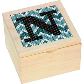 Monogram Wood Box, Counted Cross Stitch_72-74113