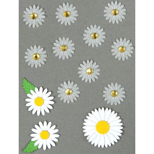 Mini White Flower Embellishments_50-00542