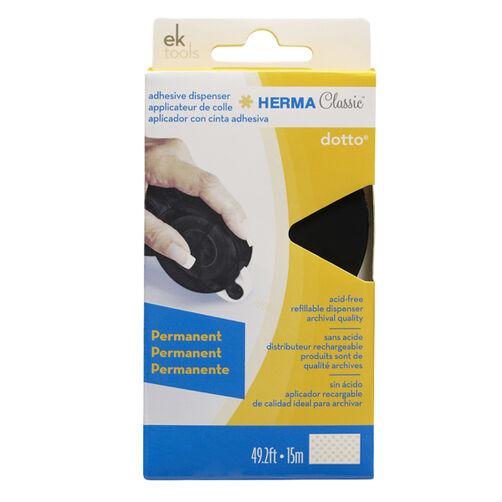 HERMA Dotto Permanent Dot Adhesive - Black_55-01020
