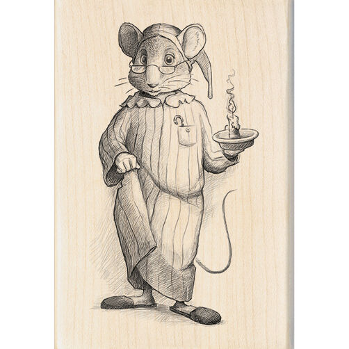 Goodnight Mouse Wood Stamp_60-00929