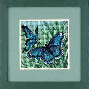 Butterfly Duo, Needlepoint_07183