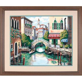 Scenic Canal, Paint by Number_91303