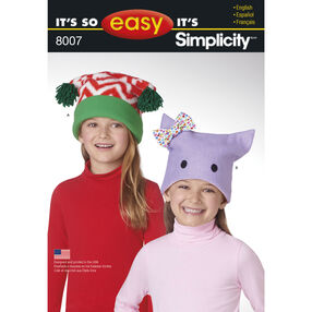Child's It's So Easy Fleece Hats