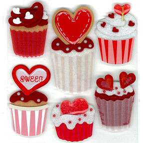 Cupcakes Stickers_50-20025