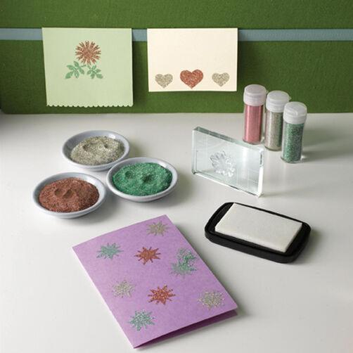 Glitter Stamp Starter Kit_M111100