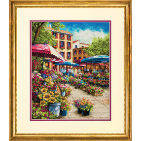 Provence Market, Counted Cross Stitch_70-35333