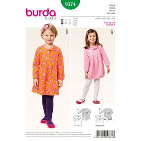 Burda Style Pattern 9374 Dress