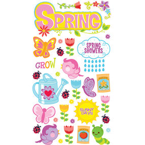 Spring Showers Stickers_52-00510