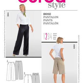 Burda Style Pattern 8087 Pants