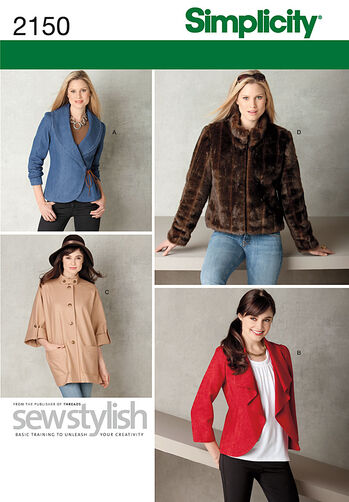 Simplicity Pattern 2150 Misses' Jackets