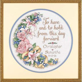 To Have and To Hold Wedding Record, Counted Cross Stitch_03892